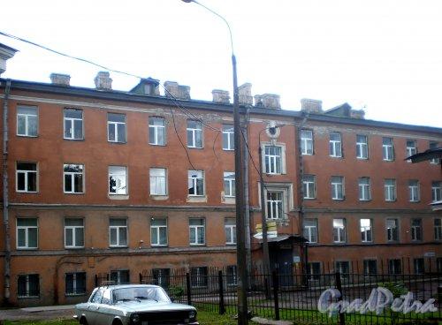 Свердловская наб., д. 40, корп. 2, лит. К. Вид со двора. Фото июнь 2009 г.