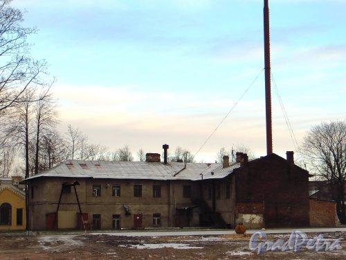 Свердловская наб., д. 38, корп.3, лит. З. Здание котельной. Фото январь 2014 г.