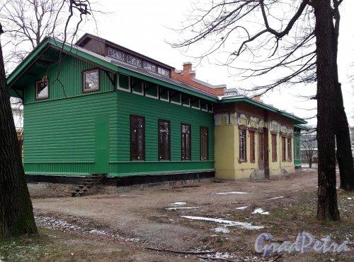 Свердловская наб., д. 38, корп. 2, лит. Г. Общий вид. Фото январь 2014 г.