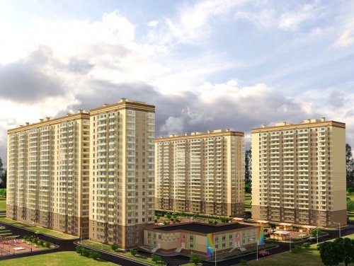 Проект жилых домов ЖК «Мой Город»