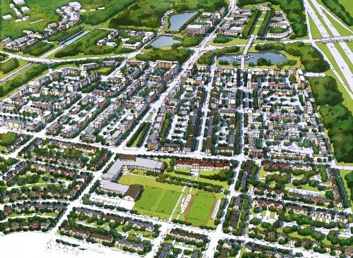 Проект города-спутника «Южный».