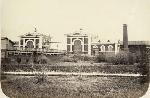 Станция Саблино. Фото из альбома «Виды Николаевскойжелезной дороги»