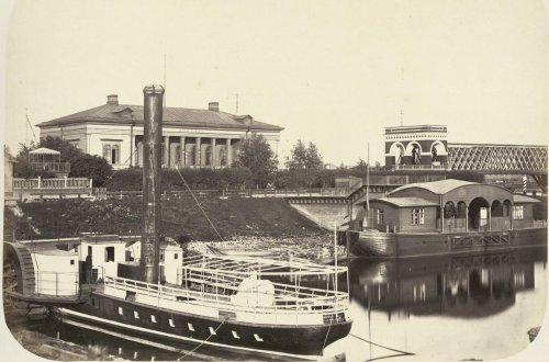 Станция Волхов. Фото из альбома «Виды Николаевскойжелезной дороги»