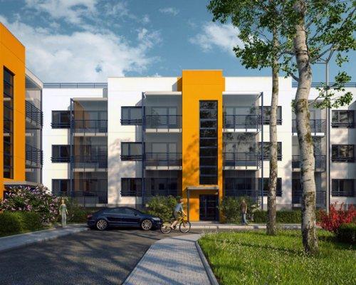 Проект жилого комплекса «Элемент» в районе «Финские кварталы» в поселке Лупполово.