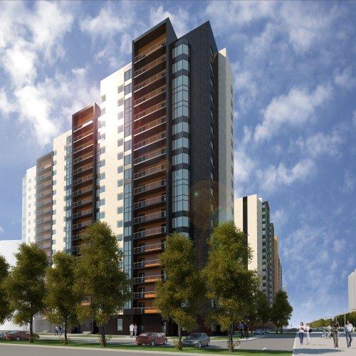 Проект жилого комплекса «Десяткино» (II очередь).