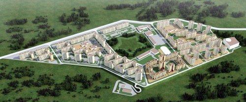 Жилой комплекс «Осиновая Роща». Проект планировки военного городка №1 в поселке Осиновая Роща.