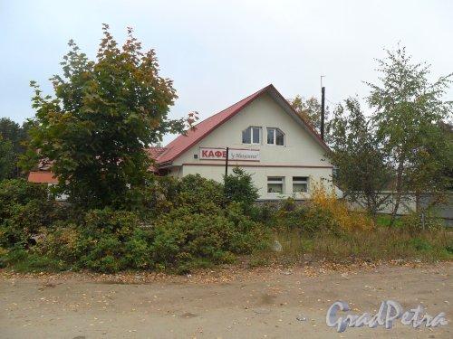 Поселок Решетниково, дом 5 А. Кафе «У Михалыча». Фото 23 сентября 2013 года.