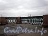 Фрагмент ограды набережной Лейтенанта Шмидта. Фото октябрь 2009 г.