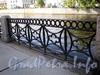 Фрагмент ограды набережной реки Мойки близ Храповицкого моста. Фото сентябрь 2009 г.