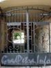 Пер. Гривцова, д. 20. Решетка ворот. Фото октябрь 2009 г.