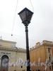 Фонарь на Манежной площади. Фото октябрь 2009 г.