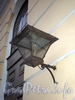 Манежная пл., д. 6. Михайловский манеж (Зимний стадион). Фонарь. Фото октябрь 2009 г.