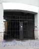 Наб. реки Фонтанки, д. 83. Дом И. Яковлева. Решетка ворот. Фото сентябрь 2009 г.