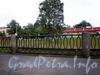 Фрагмент ограды набережной Черной речки. Фото сентябрь 2009 г.
