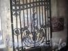Греческий пр., д. 17. Решетка ворот. Фото февраль 2010 г.