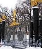 Преображенская пл., д. 1. Спасо-Преображенский собор. Центральные ворота. Фото февраль 2010 г.