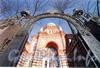 Лермонтовский пр., д. 2. Главный ворота Хоральной синагоги. Фото 2004 г. (из книги «Старая Коломна»)