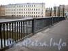 Ограда Борового моста. Фото декабрь 2009 г.