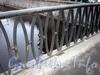 Фрагмент ограды Петропавловского моста. Фото декабрь 2009 г.