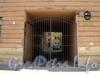 Клинский пр., д. 3. Решетка ворот. Фото май 2010 г.