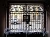 Дойников пер., д. 2. Решетка ворот. Фото май 2010 г.