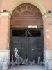 Галерная ул., д. 37. Решетка ворот. Фото июнь 2010 г.