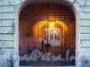 Галерная ул., д. 45. Решетка ворот. Фото июнь 2010 г.