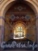 Кирочная ул., д. 1. Здание Офицерского собрания (Дом офицеров). Решетка ворот. Фото апрель 2010 г.