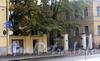 Кирочная ул., д. 31. Ограда между корпусами. Фото сентябрь 2010 г.