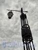 Фонарь Смоленского моста. Фото июнь 2010 г.