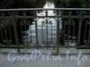 Фрагмент ограды Барочного моста. Фото сентябрь 2010 г.