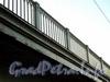 Ограждение Большого Крестовского моста. Фото сентябрь 2010 г.