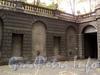 Кронверкский пр., д. 5. Фрагмент ограды внутреннего двора. Фото октябрь 2010 г.