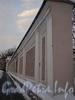 Ограда сада Аничкова дворца со стороны площади Островского. Фото январь 2011 г.
