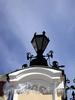 Фонарь ограды Придворной певческой капеллы. Фото июнь 2010 г.