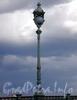 Фонарь Троицкого моста. Фото май 2009 г.