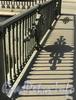 Фрагмент ограждения Итальянского моста. Фото август 2011 г.