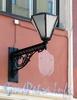 Мал. Конюшенная ул., д. 14. Фонарь. Фото август 2011 г.