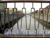 Фрагмент ограждения Масляного пешеходного моста. Фото апрель 2011 г.