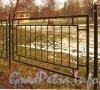Фрагмент ограды Палевского сада. Фото октябрь 2012 г.