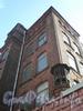 Ул. Красного Текстильщика, д. 12, старый фонарь на ограде. Фото 2008 г.