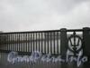 Ограда Биржевого моста. Декабрь 2008 г.