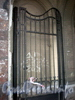 Звенигородская ул., д. 4. Решетка ворот. Ноябрь 2008 г.