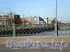Ограда Варшавского моста. Фото апрель 2009 г.