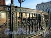Ограда памятника Николаю I на Исаакиевской площади. Фото июль 2009 г.