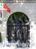 4-я линия В.О., д. 13. Здание книгоиздательства А.Ф.Девриена. Решетка ворот. Фото август 2009 г.
