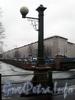 Фонарь Матвеева моста. Фото март 2009 г.