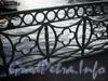 Фрагмент ограды Зеленого моста. Фото октябрь 2009 г.