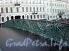 Ограда Певческого моста. Фото октябрь 2009 г.
