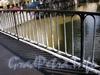 Фрагмент ограды Харламова моста. Фото август 2009 г.